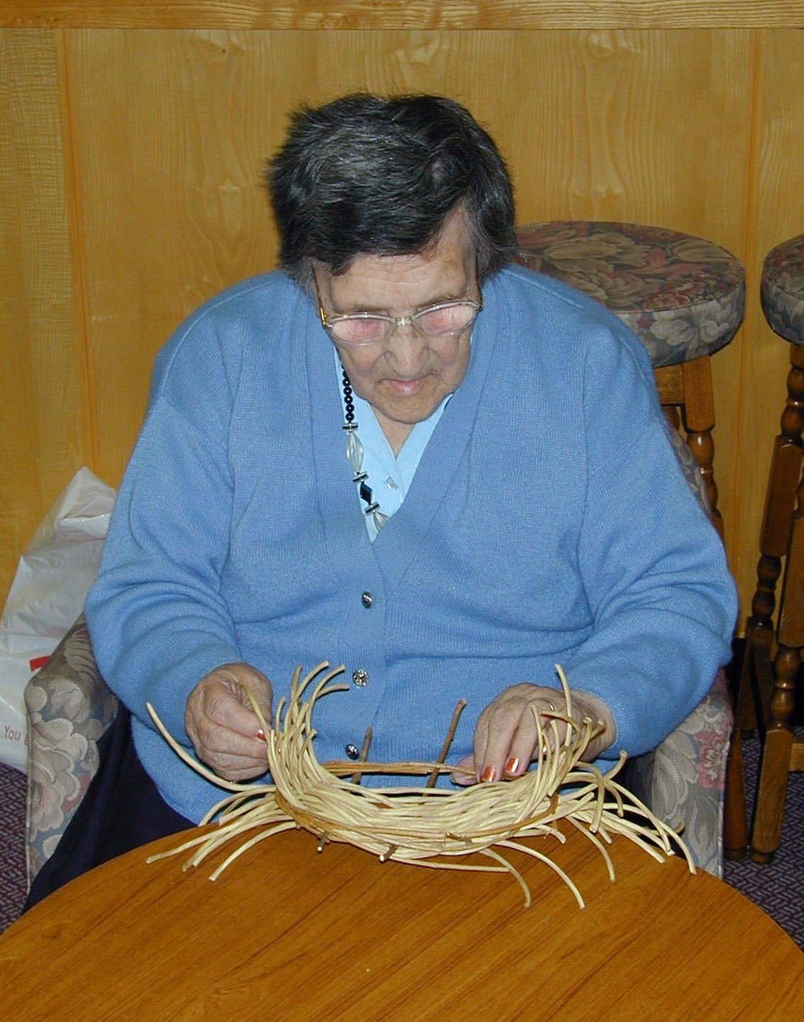 longlands care home, pitt rivers museum basketry project