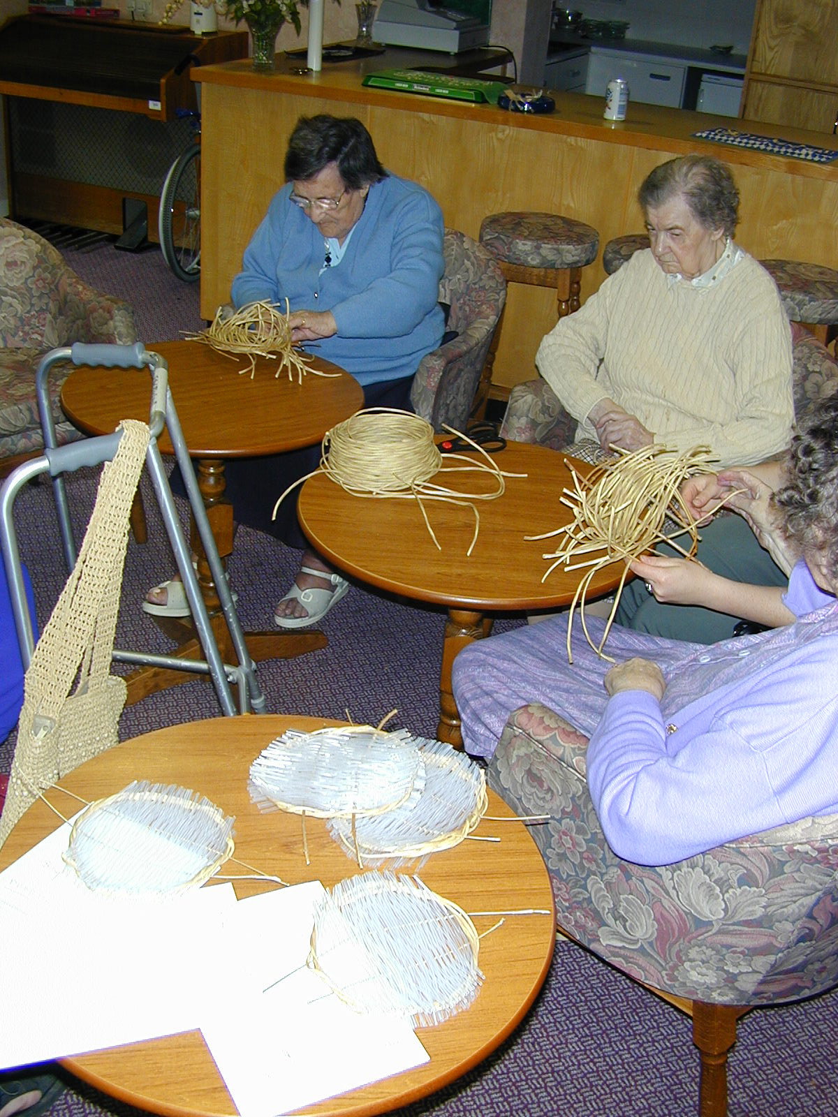 longlands care home, pitt rivers museum basketry project(2)