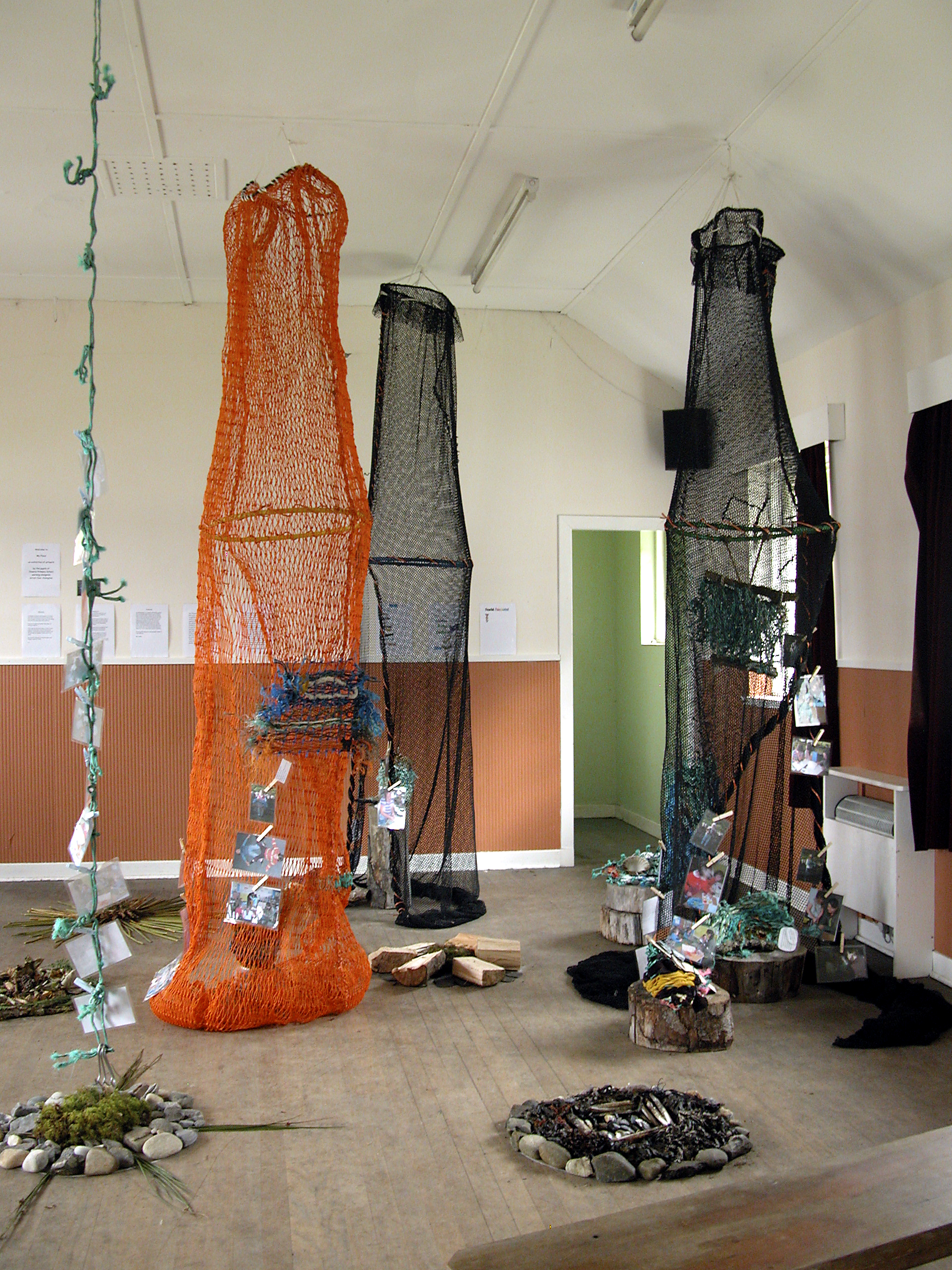 'my place', installation in the village hall (2)
