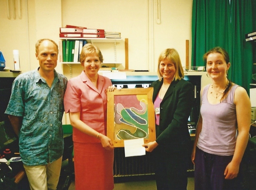 'oxfordshire youth offending service', gifting an artwork to a community(2)