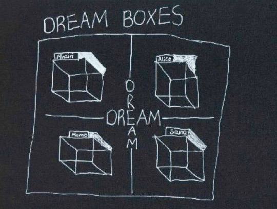 'winter dreams', st. andrew's primary school, dream drawing