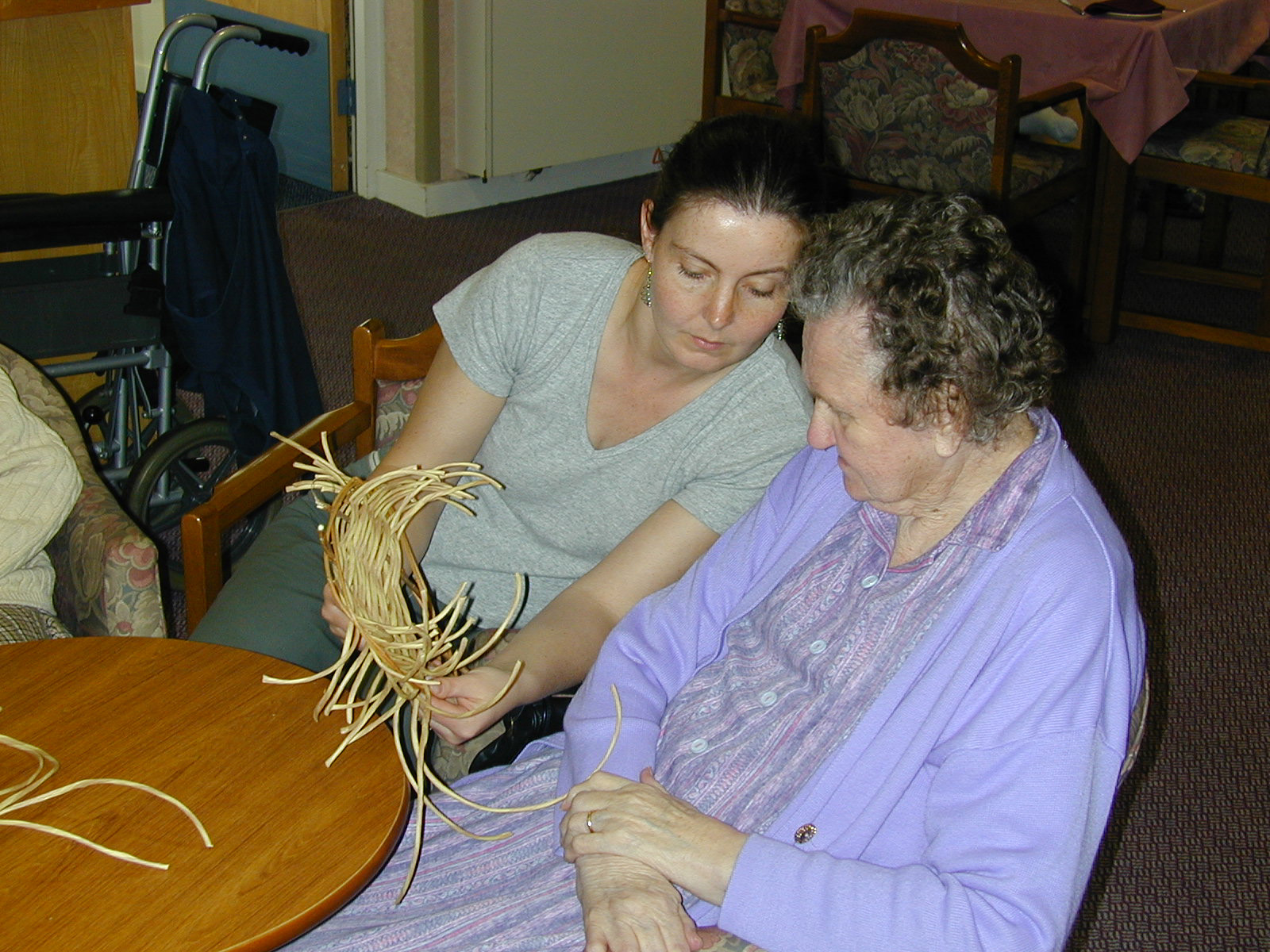 longlands care home, pitt rivers museum basketry project(3)