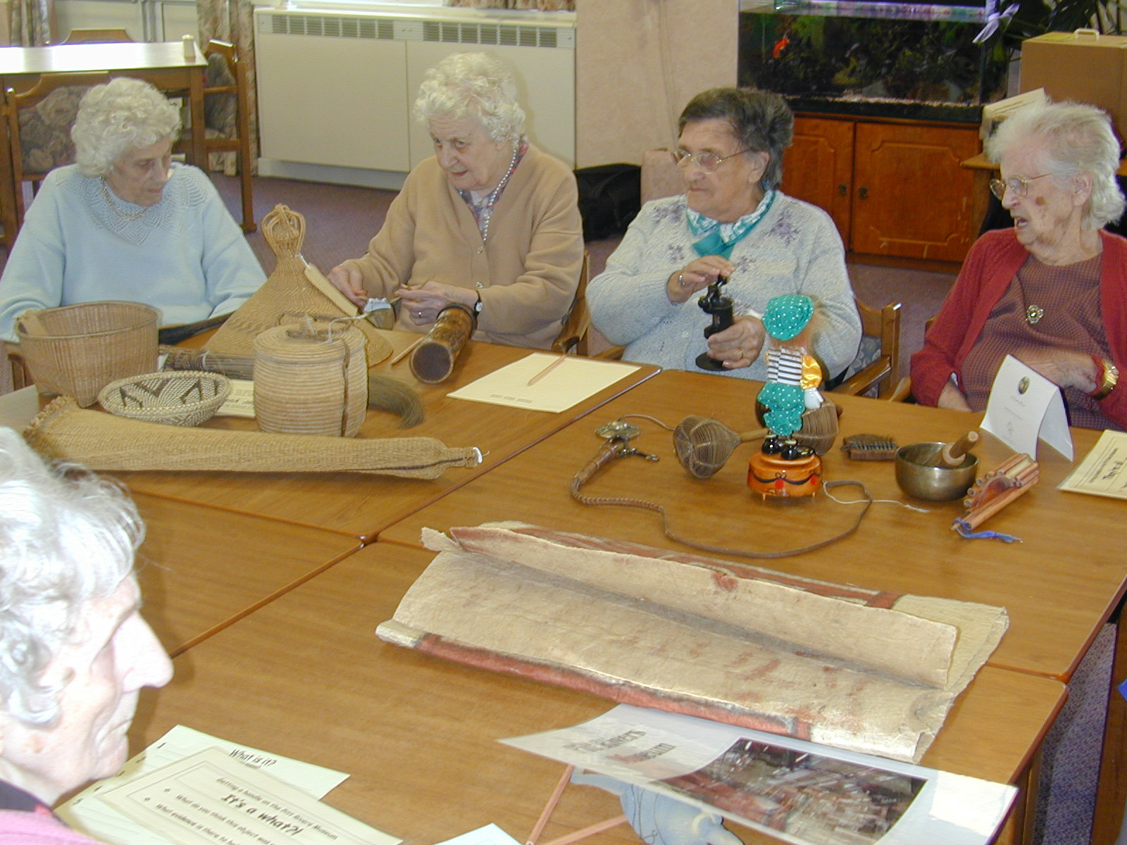 longlands care home, pitt rivers museum basketry project(4)