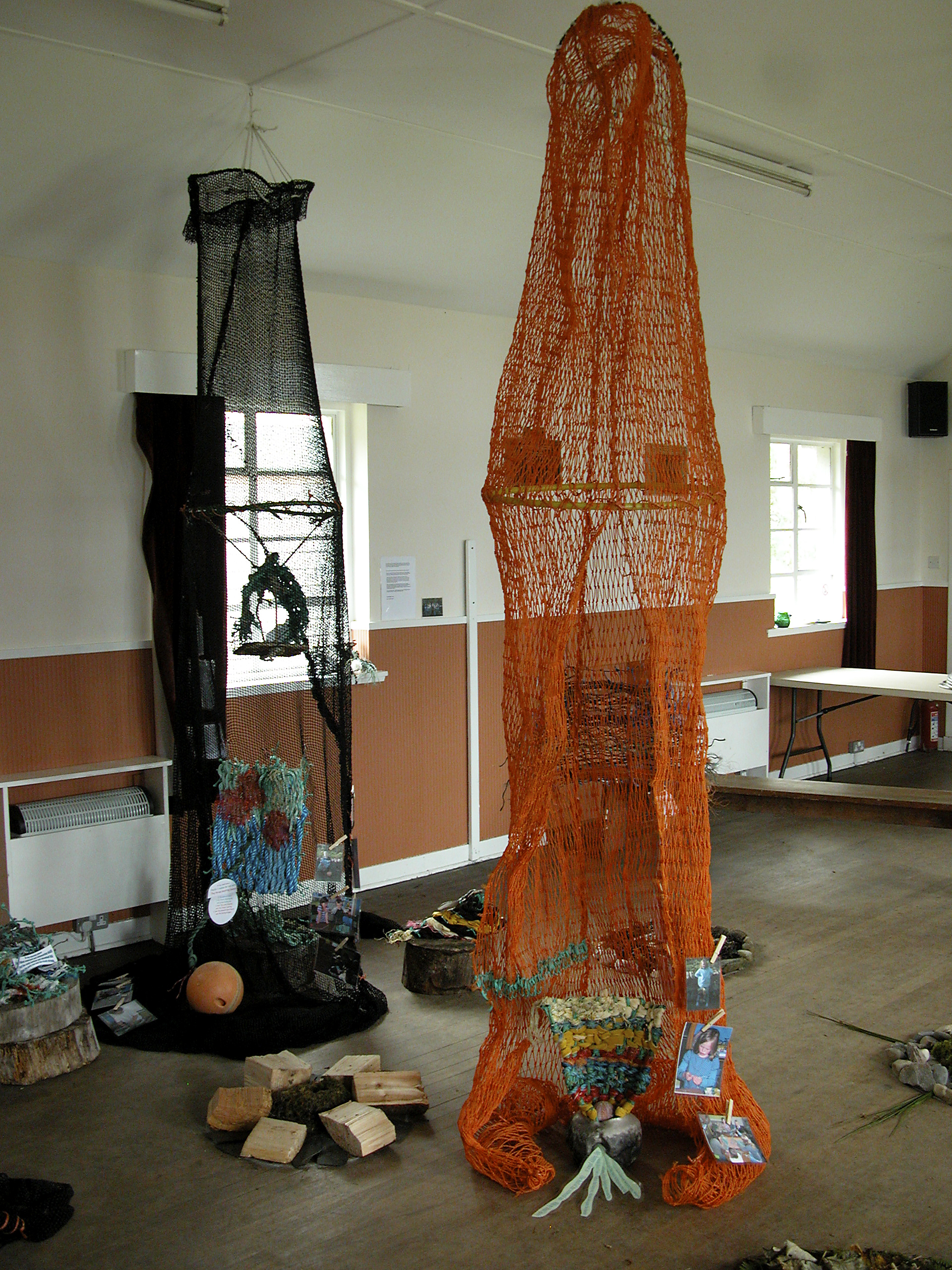 'my place', installation in the village hall