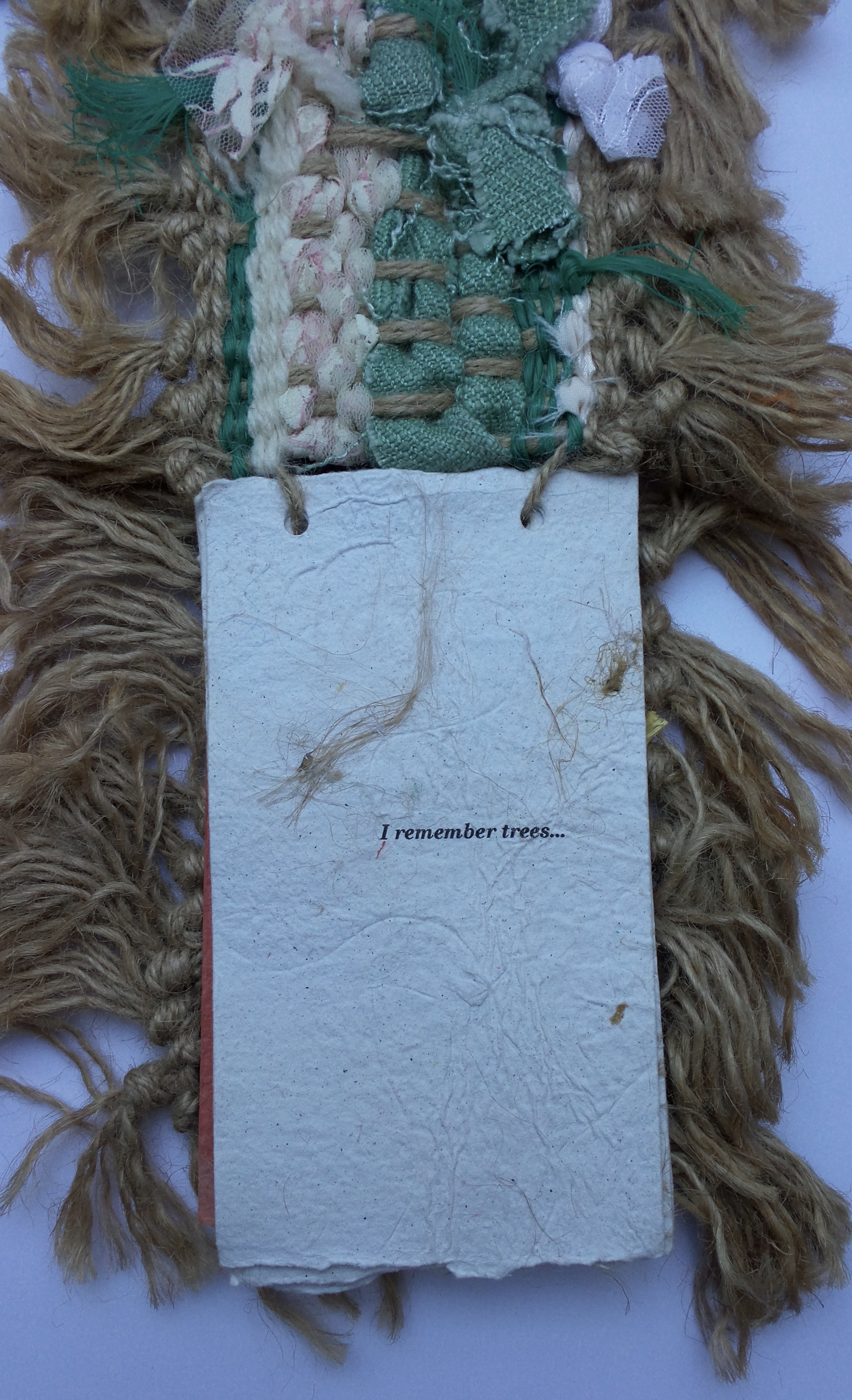 'new leaves', exhibition book by older people - memories of trees(2)