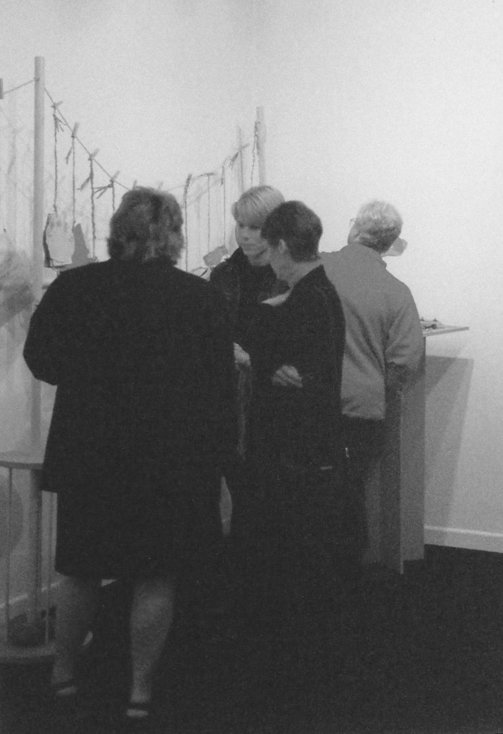 'new leaves', exhibition opening, ark t centre, oxford