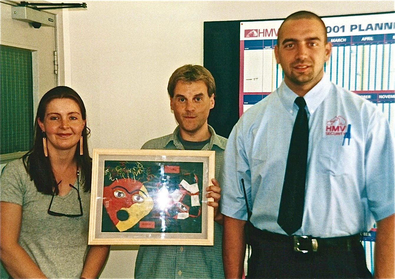 'oxfordshire youth offending service', gifting a reparative artwork